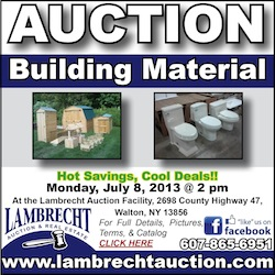 Building Materials Auction | Watershed Post