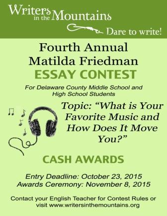 Marks essay contest