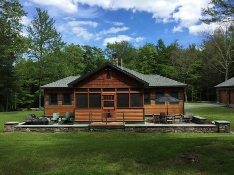 Bush Kill Park Luxe Vacation Rental On 330 Acres W Hot