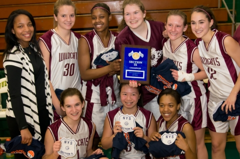 """livingston manor girls The members of livingston manor's new york state on sunday, june 12, the manor wildcats won """"we are very, very proud of all of you girls for winning."""