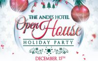 Holiday open house at the Andes Hotel